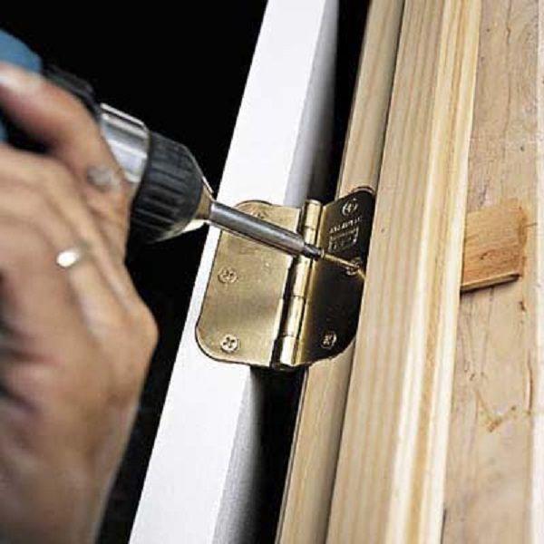 how to install door hinges | Door Designs Plans | door ...