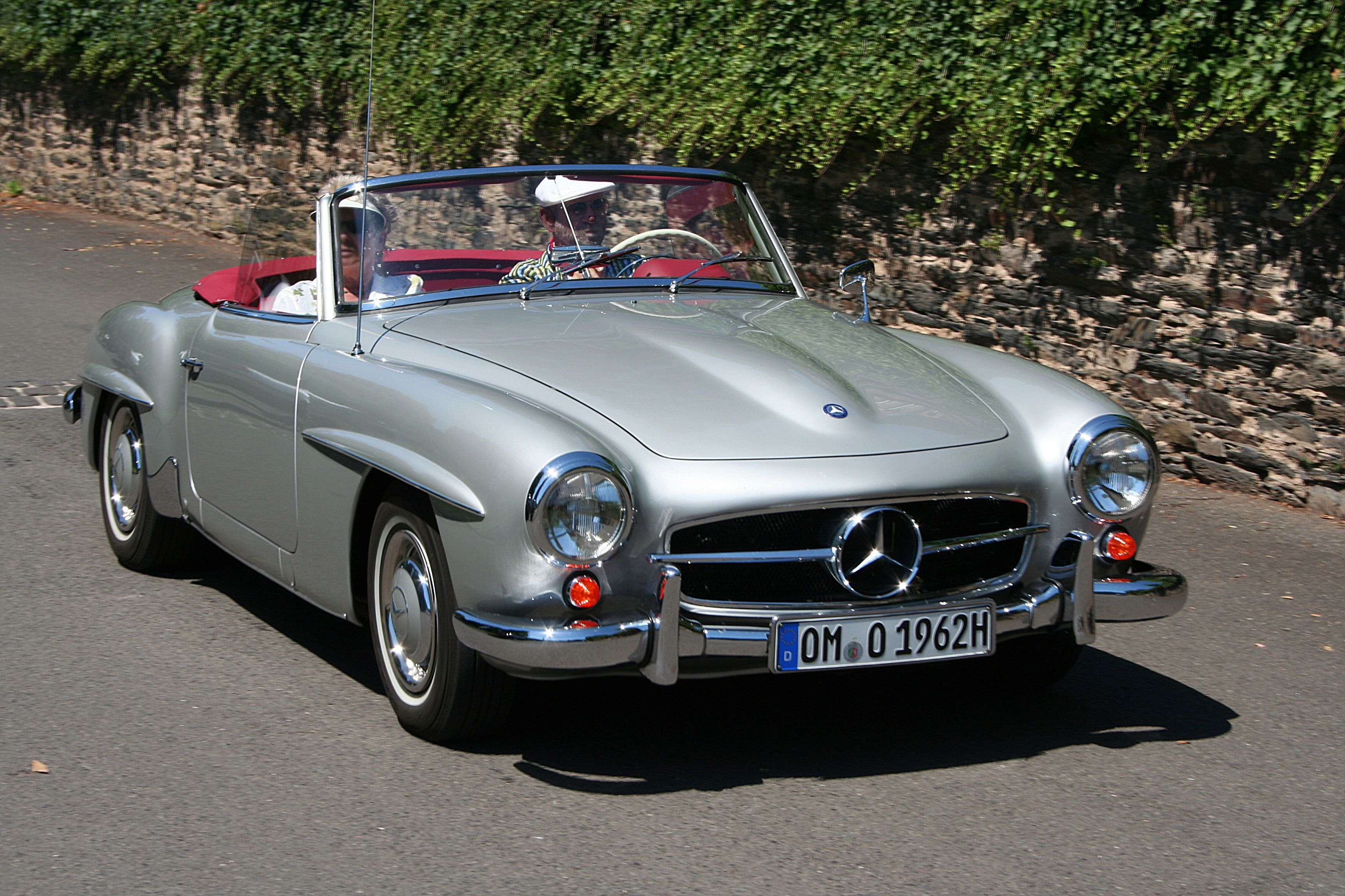 Much like the db5 the mercedes 190sl oozes class for How much is a new mercedes benz