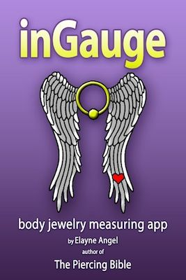 CONGRATS ELAYNE!!! I'm so excited!!! Coming soon: The Piercing Bible body jewelry measuring app for iPhone/iPad/iPod!