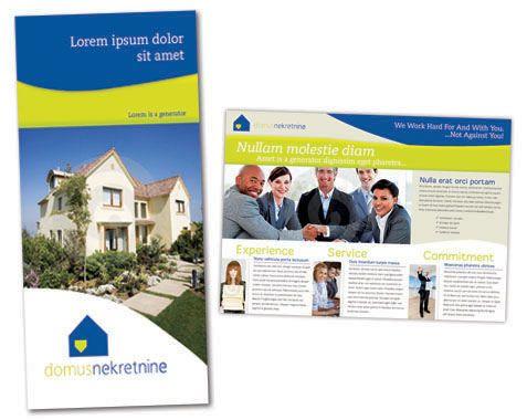 real estate brochure template real estate pinterest real