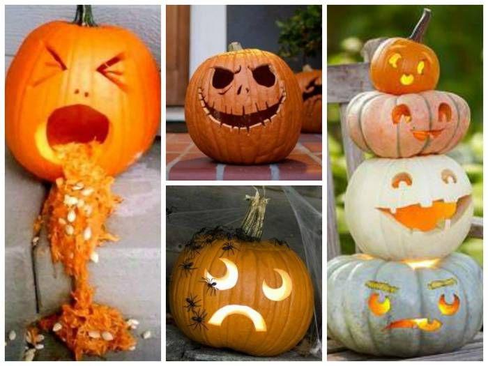 Carved Pumpkins Fun Stuff Pinterest Decoration - cool halloween decorations you can make