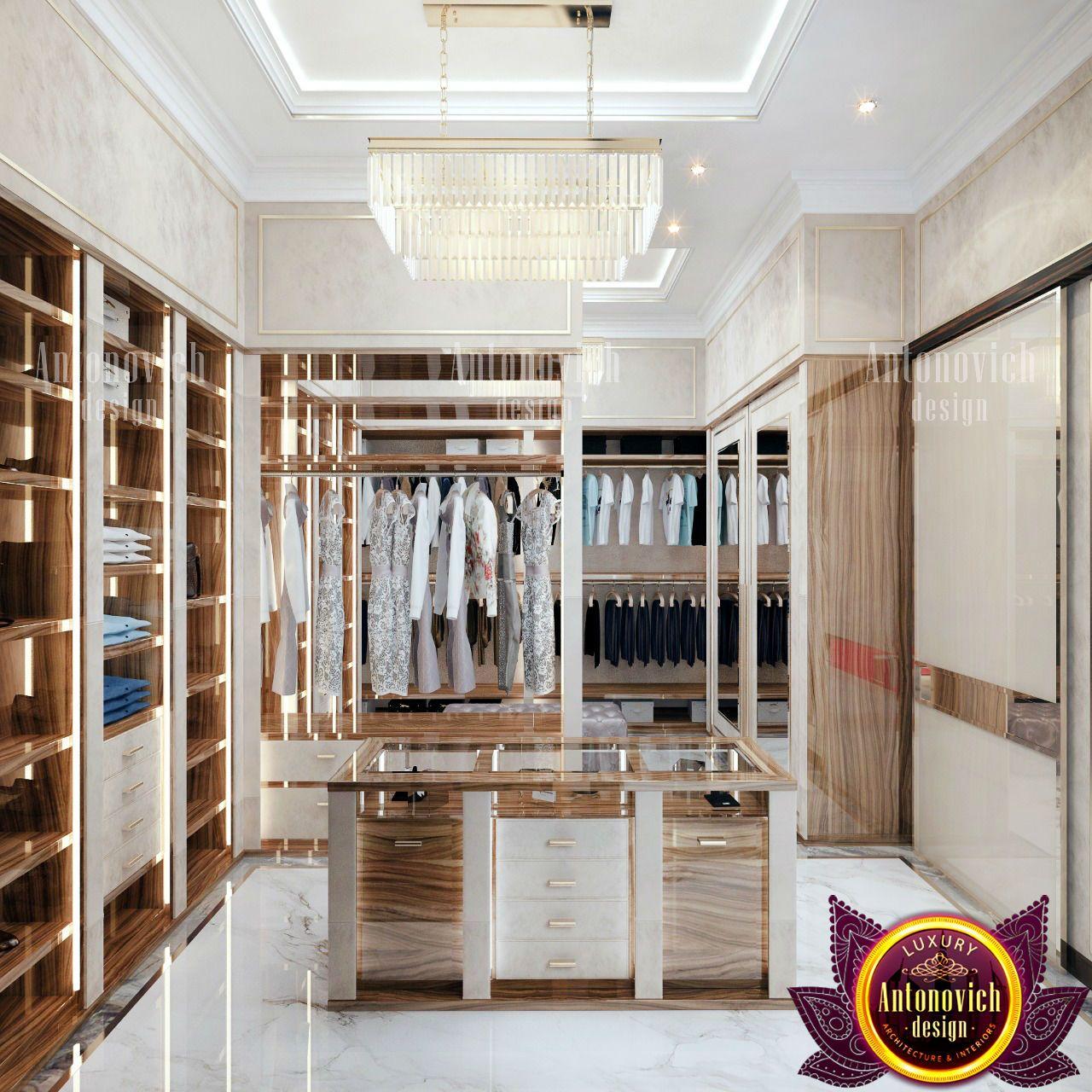 Dressing Room Wardrobe System Modern Villa Design Dressing