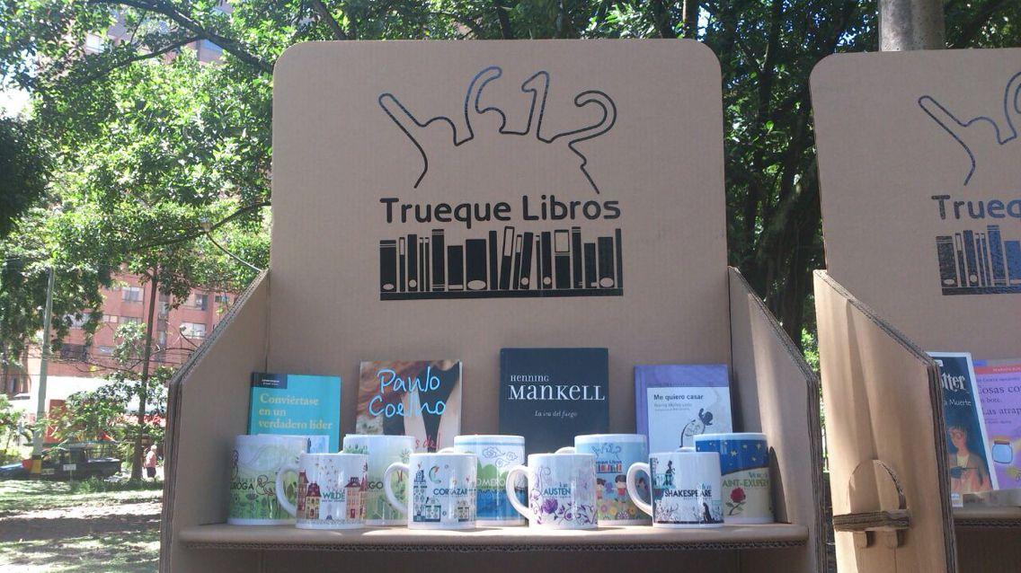 #TruequeLibros CasaTeatro El Poblado, mayo 2015
