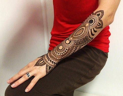 Mens Mehndi Tattoo : Creative geometric tattoos design ideas women men ▻ henna tattoo
