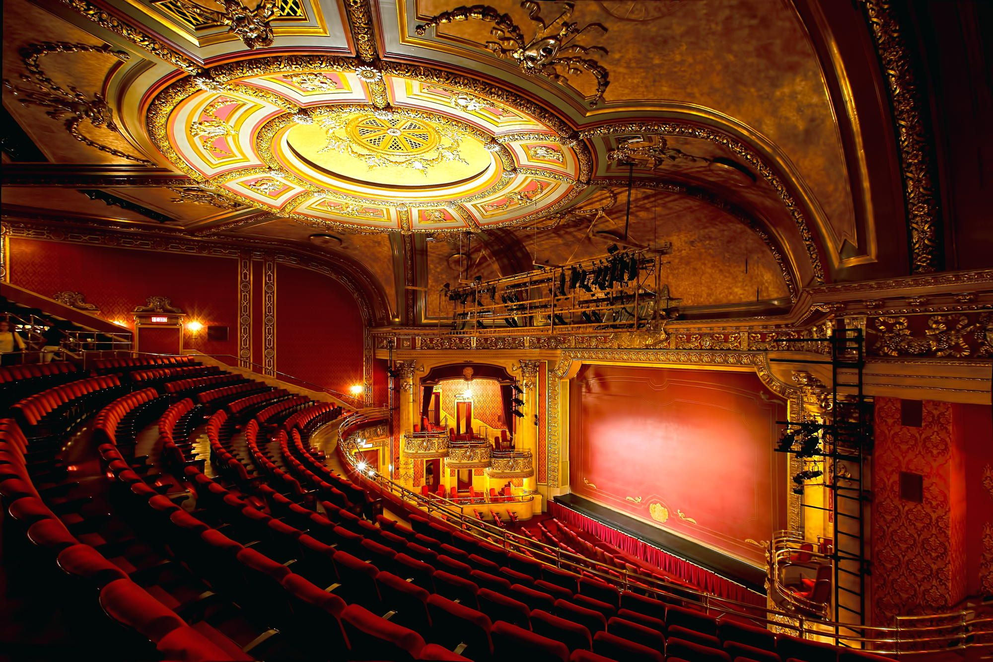 The inside of the Elgin Theatre