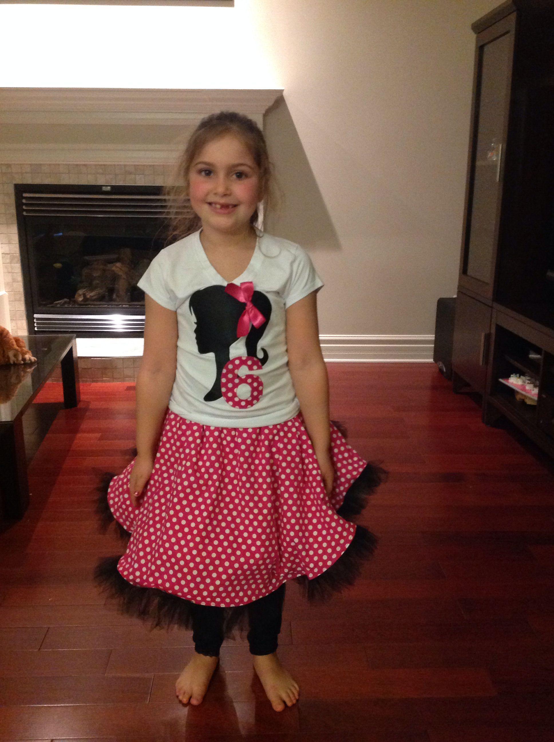Barbie birthday outfit ideas para manualidades