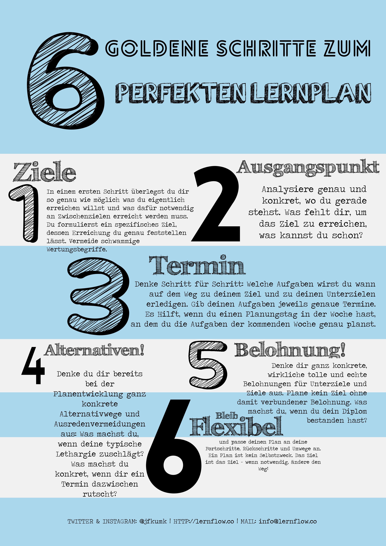 lernplan_poster | school | Pinterest | Psychology and School