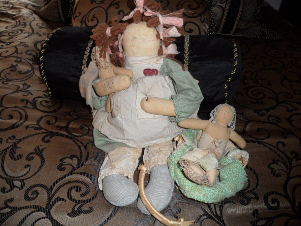 Another Attic Baby Primitive Dolls Country Crafts Boutique Homes