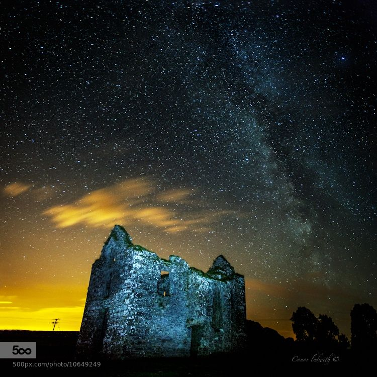 Milky way over Galway by conor ledwith (conorledwith)) on 500px.com