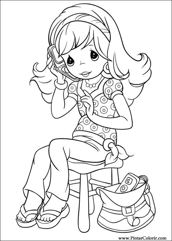 Drawings To Paint Colour Precious Moments Page 4 Precious Moments Coloring Pages Coloring Pages Cartoon Coloring Pages