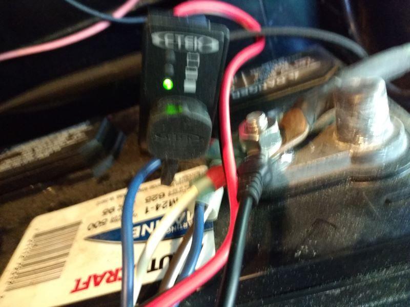 CTEK BatteryHealth Indicator Cable w/ Panel Box for 12
