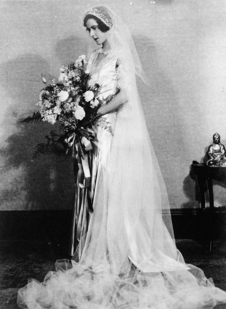 Florence (Cooee) Blume on her wedding day in Brisbane, 1931 ...