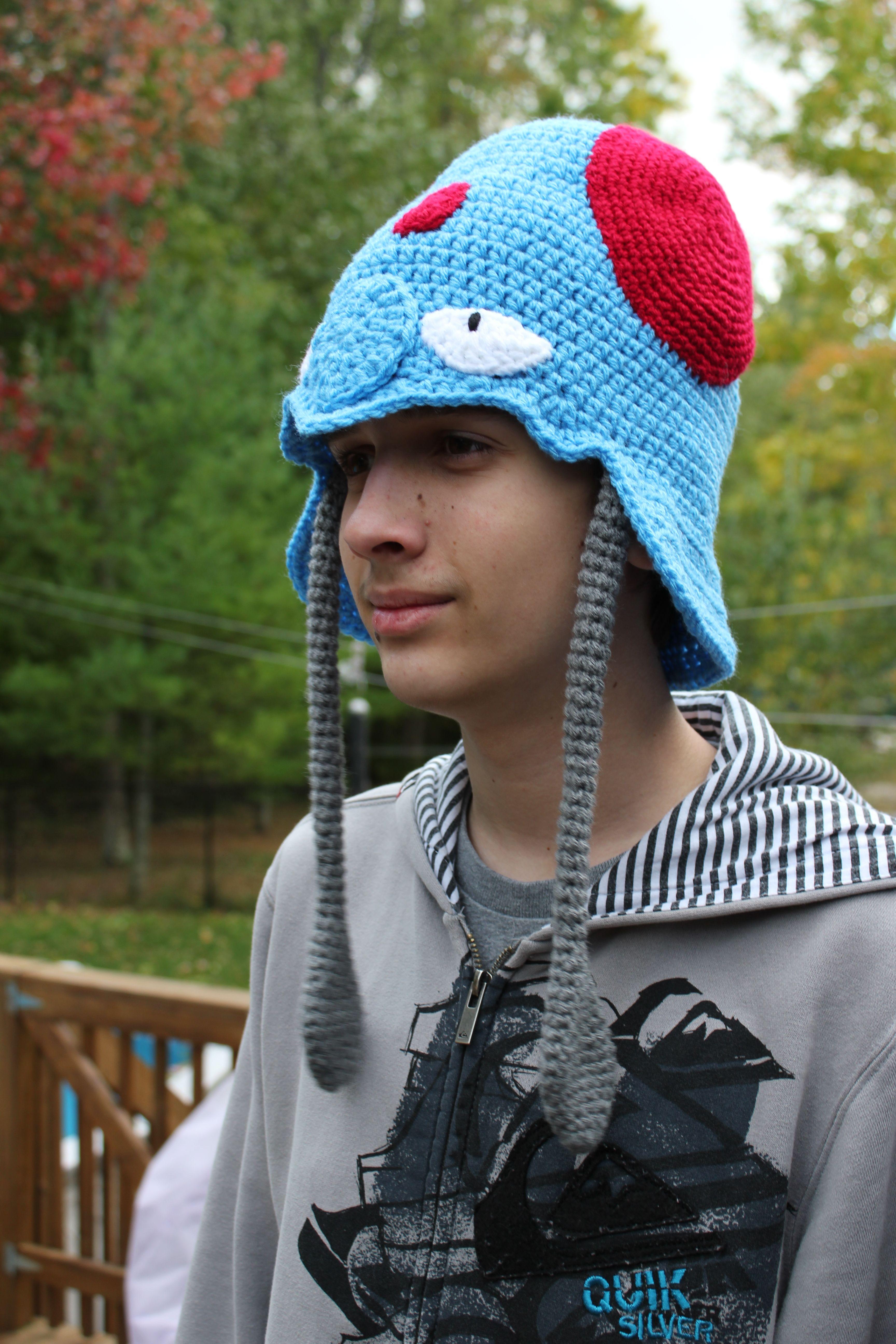 ab9082c24 Pokemon Tentacool inspired hat | Crochet I Like - Pokemon | Crochet ...