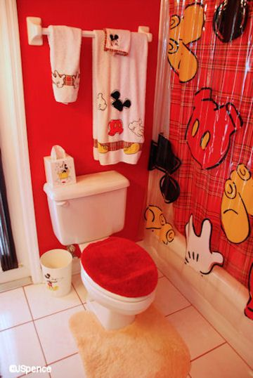 Mickey Mouse Suite At Laffite S Landing Mickey Mouse Bathroom