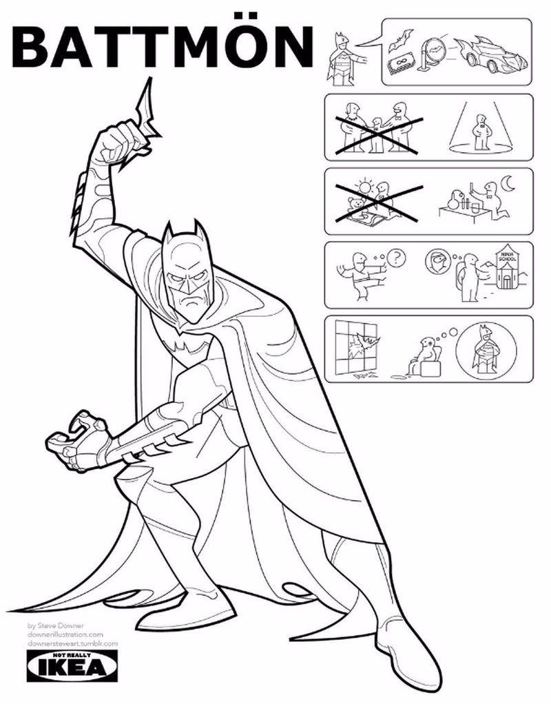 Estilo Instrucciones Las De Superheldencomics Ikea SpzVMU