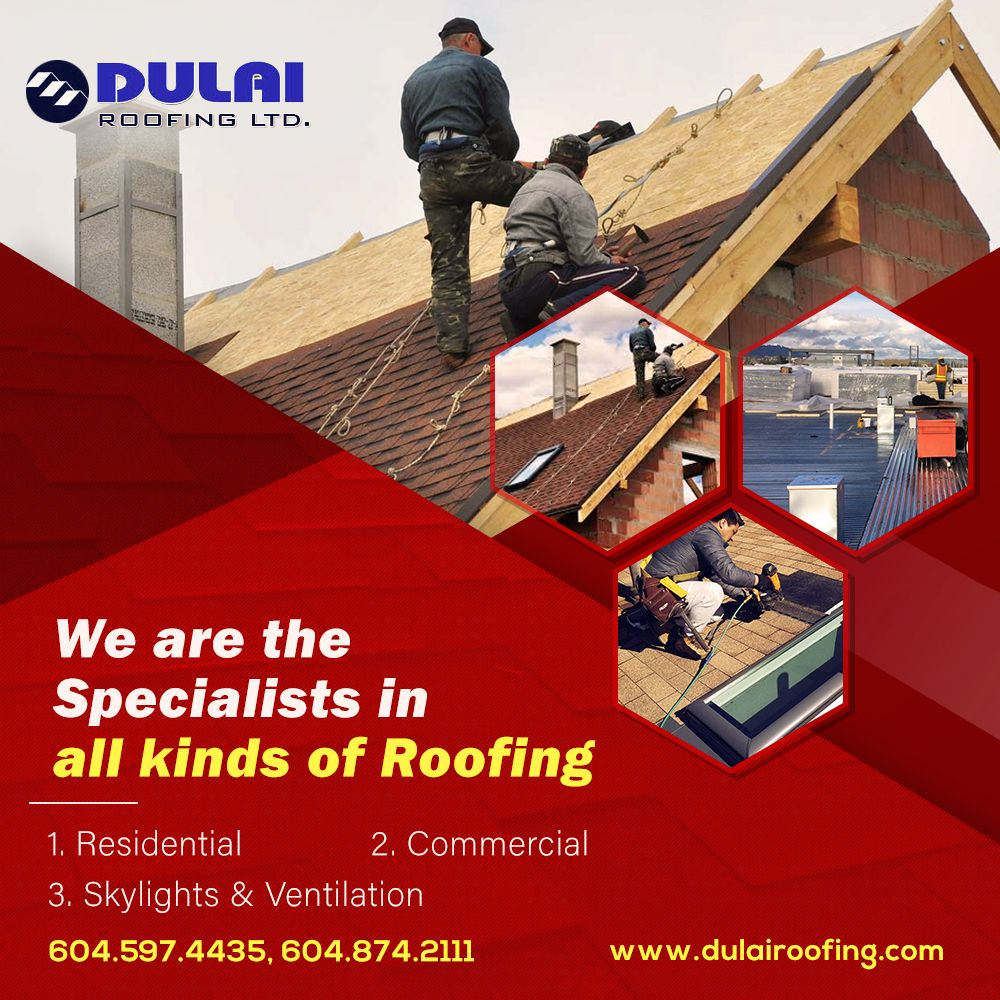 All Kind Of Roofing In Canada Roofing Roofing Services Skylight