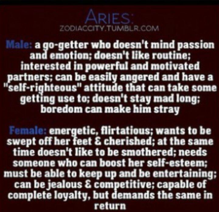 aries horoscope personality of a woman
