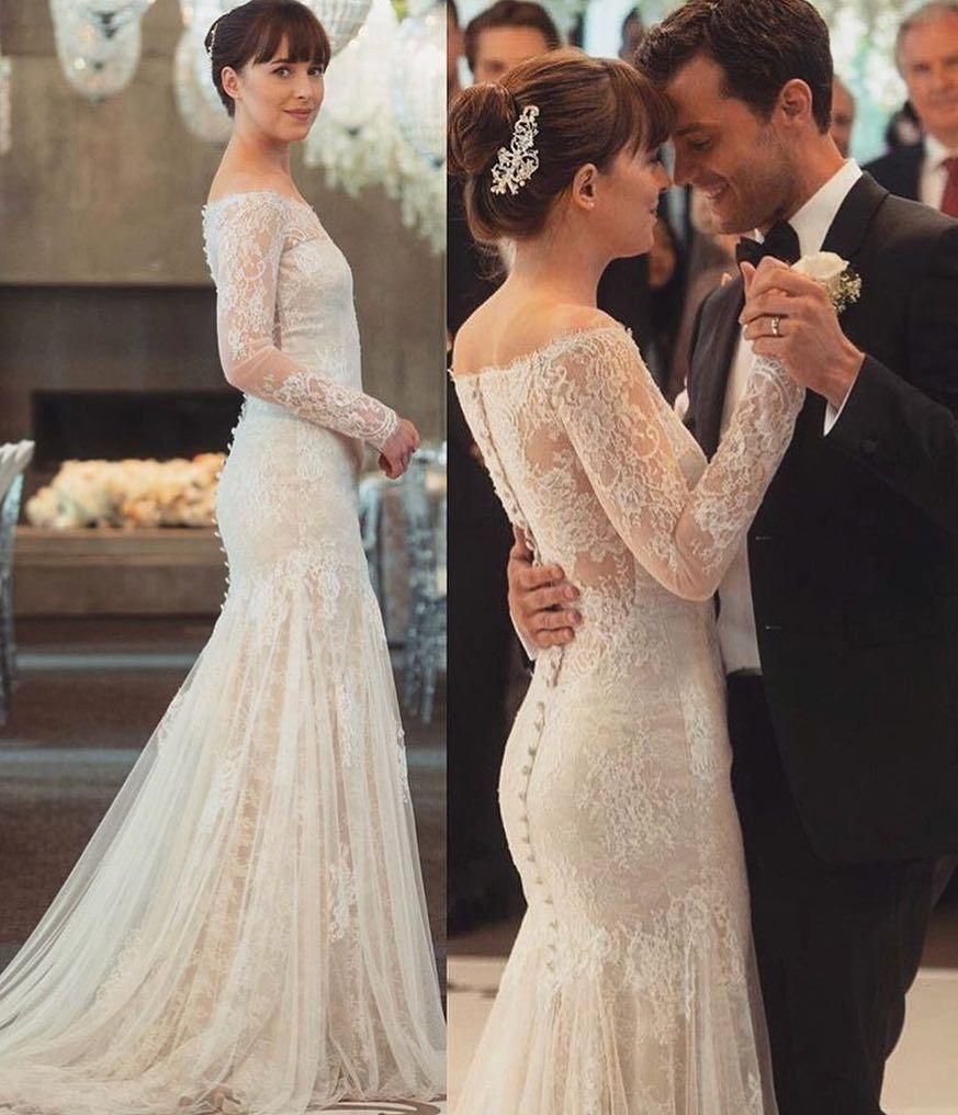 Exclusive: The Designer Behind Anastasia\'s \'Fifty Shades\' Wedding ...