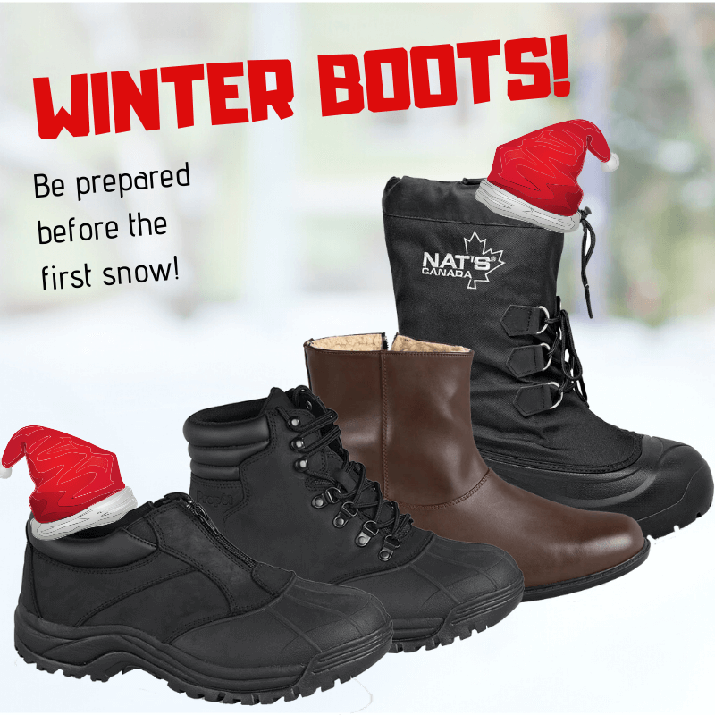 wide snow boots and waterproof boots