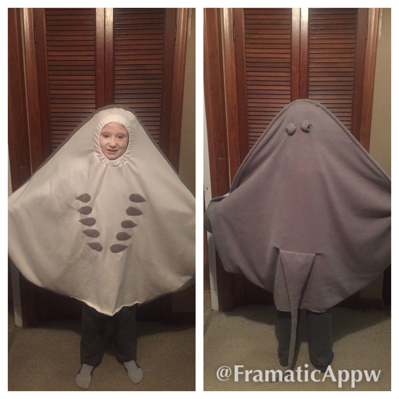 My VERY realistic stingray costume. | Stingray costume and Costumes