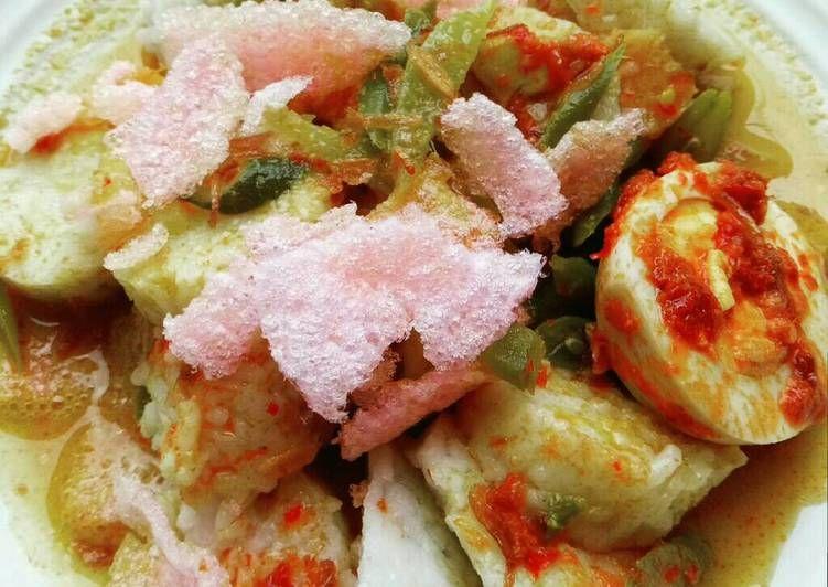 Resep Lontong Sayur Padang Oleh Renie Wisra Resep Resep Masakan Resep Sayuran