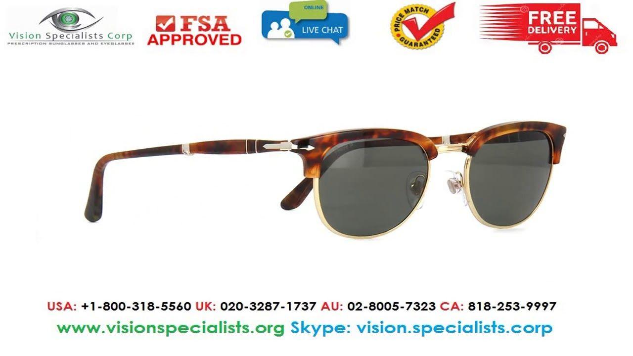 fa8a1963e2eb0 Persol 3132S 10858 Folding Polarised Sunglasses