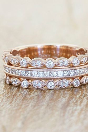 18 Delicate Rose Gold Wedding Rings You Ll Never Want To Take Off Reverie