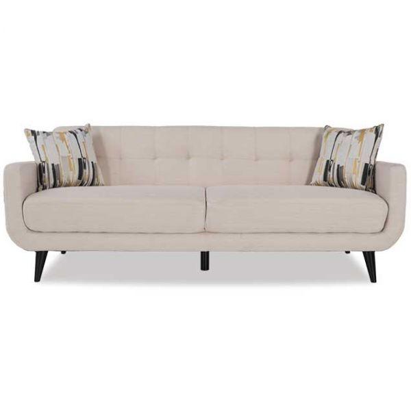 Charmant Hadley Ivory Sofa