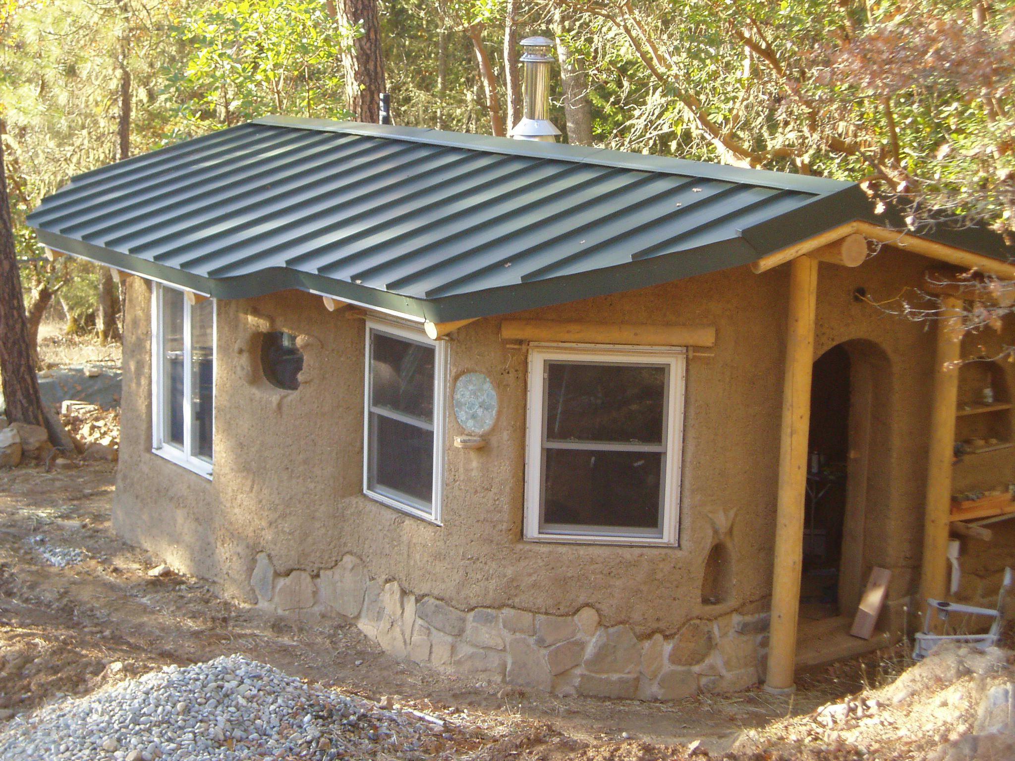 Beautiful Cob Tiny House Blog