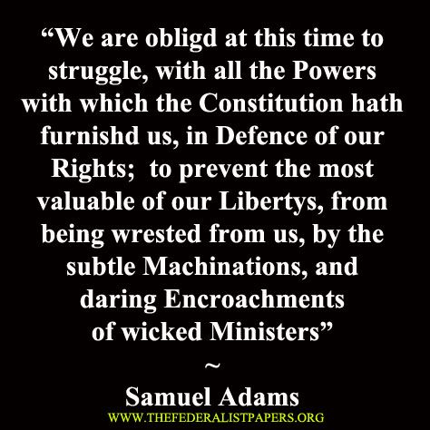 Samuel Adams Quotes Fascinating Samuel Adams Quote Defense Of Our Rights Don't Tread On Me The
