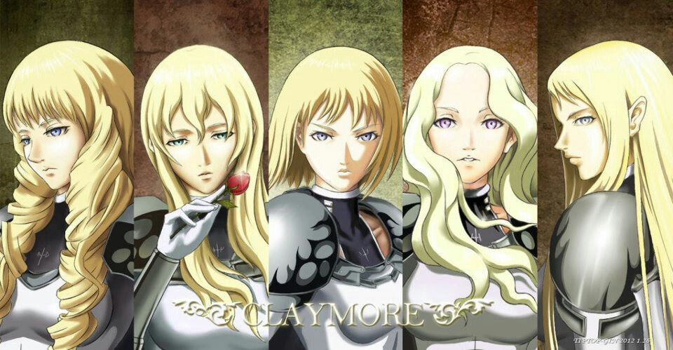 Pin by Acegirl19 Chace on Claymore in 2020 Anime