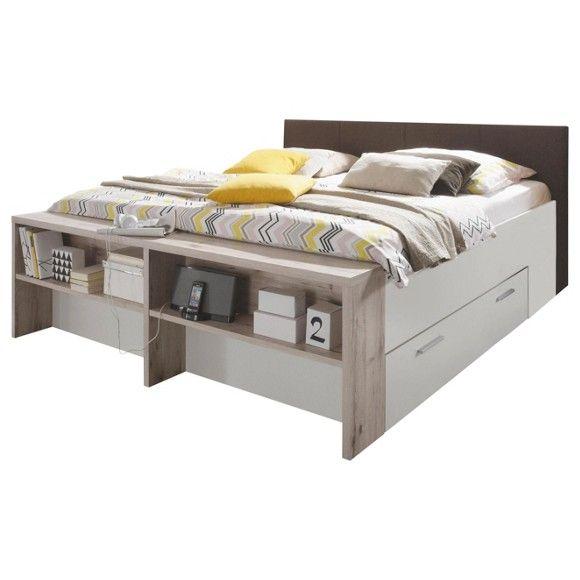 einzelbett mit stauraum, bett 180/200 cm | platzspar-möbel | pinterest | bett, bett 180x200, Design ideen