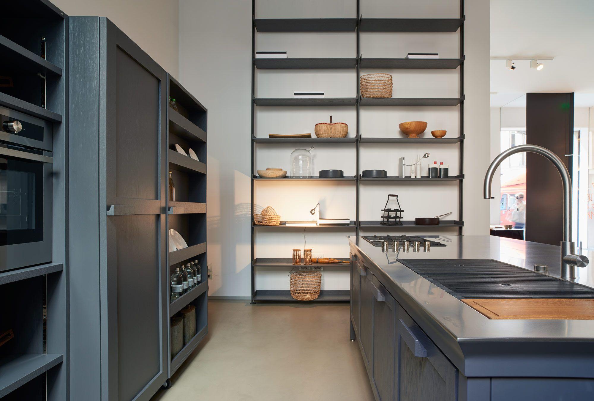 Cucina Metalwood > un progetto di Key Sbabo Cucine | storage ...