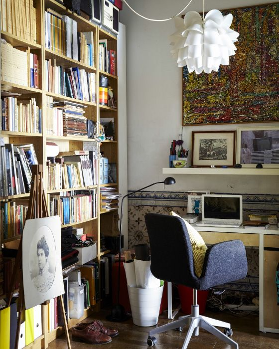 Ikea Home Office Library Ideas: Making The Most Of Small Spaces