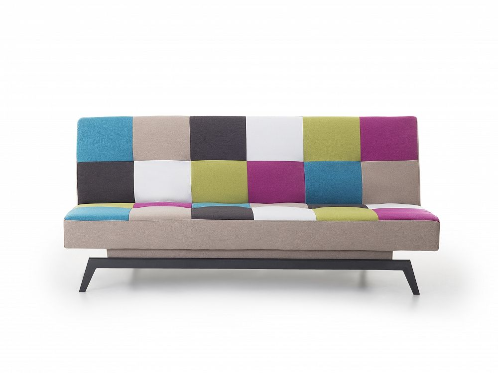 Sofa - Schlafsofa - Couch - Patchwork - Bettsofa - Funktionssofa ...
