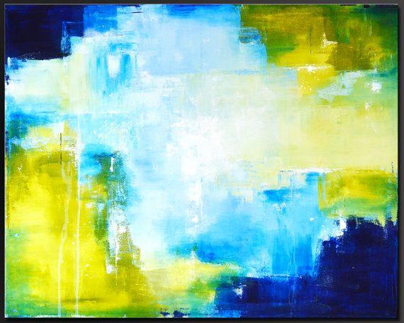 Intensité  30 x 24  peinture acrylique par CharlensAbstracts, $375.00