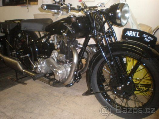 Ariel 500 Ohv 1930 F 1 Classic Motorcycles Vintage Bikes Motorbikes
