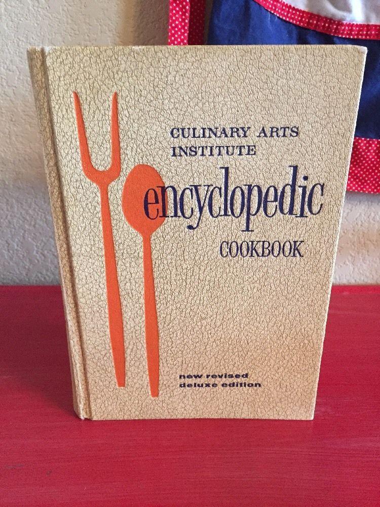 Vtg Culinary Arts Institute Encyclopedic Cookbook 1964 1968   eBay