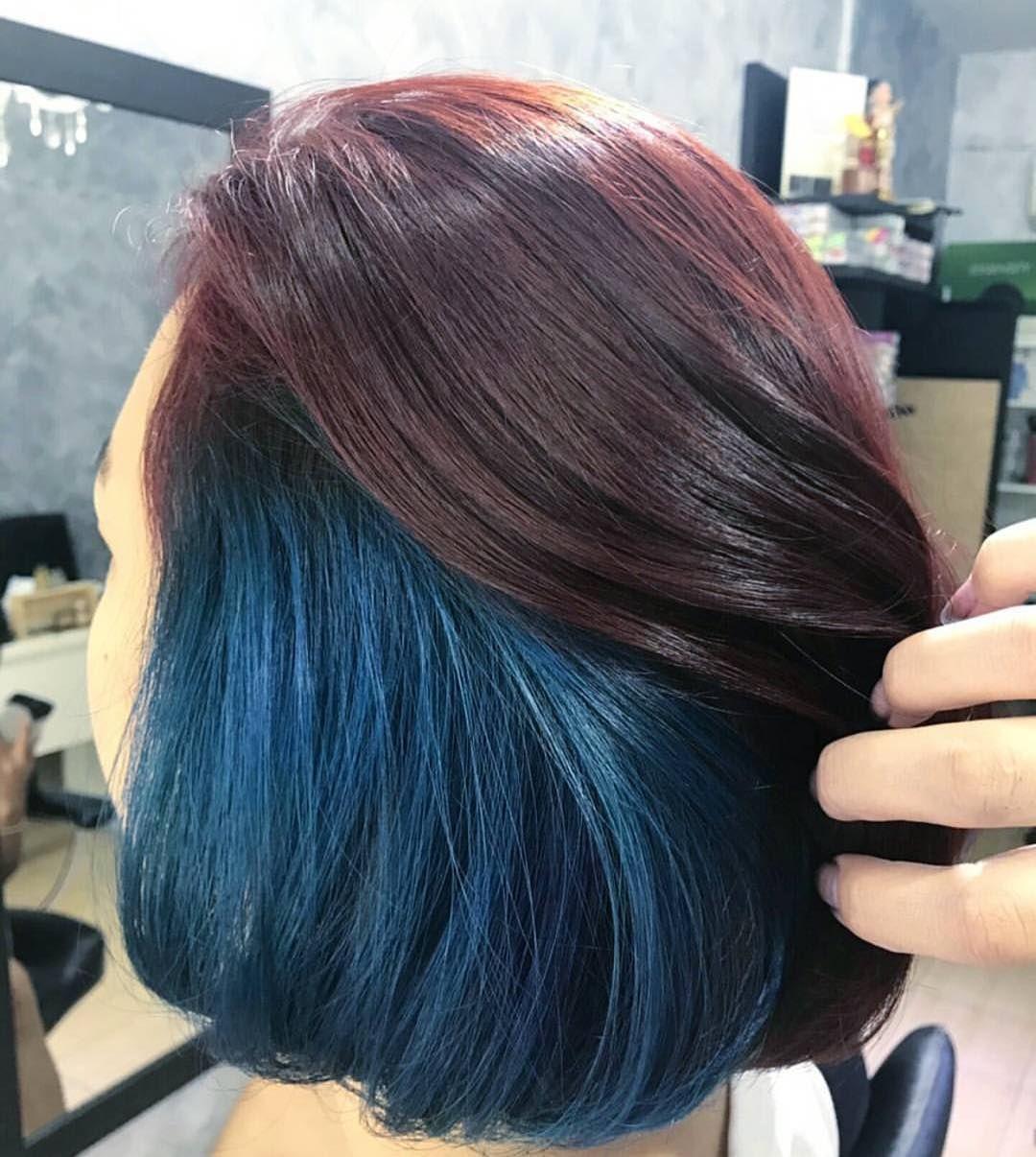 3 349 Likes 118 Comments Distributor Pravana Indonesia Pravanaindonesia On Instagram W Pravana Hair Color Bun Hairstyles For Long Hair Long Hair Styles