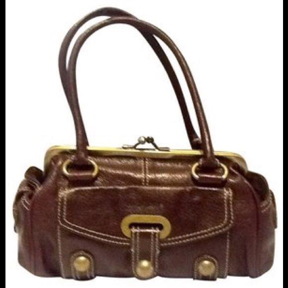 8b70d1c38ba5 Hype Burgundy Leather Handbag Hype burgundy leather handbag Hype Bags