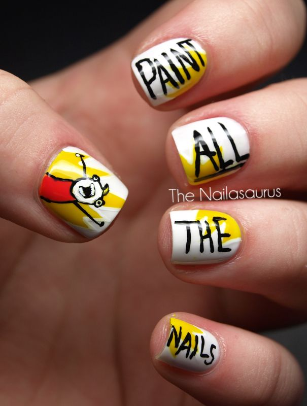 Paint All The Nails Nails Pinterest Meme Memes And Manicure