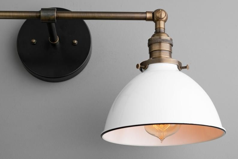 Photo of Wall Lighting – Vanity Light – Farmhouse Lighting – Bathroom Fixture – Wall Lamp – Adjustable Light – Lighting – Model No. 4564