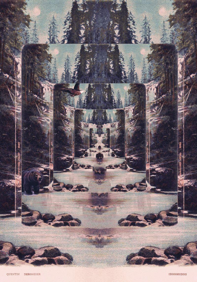 Collage - Quentin Deronzier