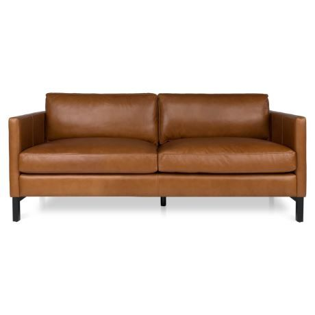 Atelier 3 Seat Leather Sofa 1 Leather Sofa Mid Century