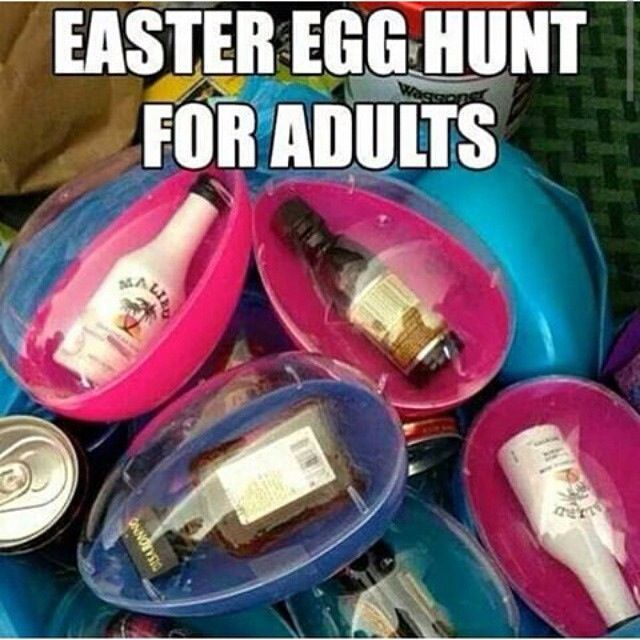 My mom can put these in my basket this year lol gift for What to put in easter eggs for adults