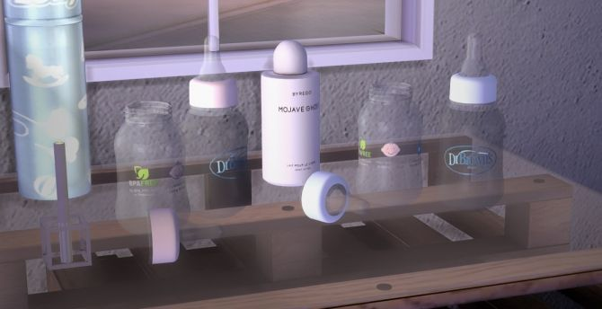 Baby Bottle At Yumia S Place Sims 4 Updates Sims 4
