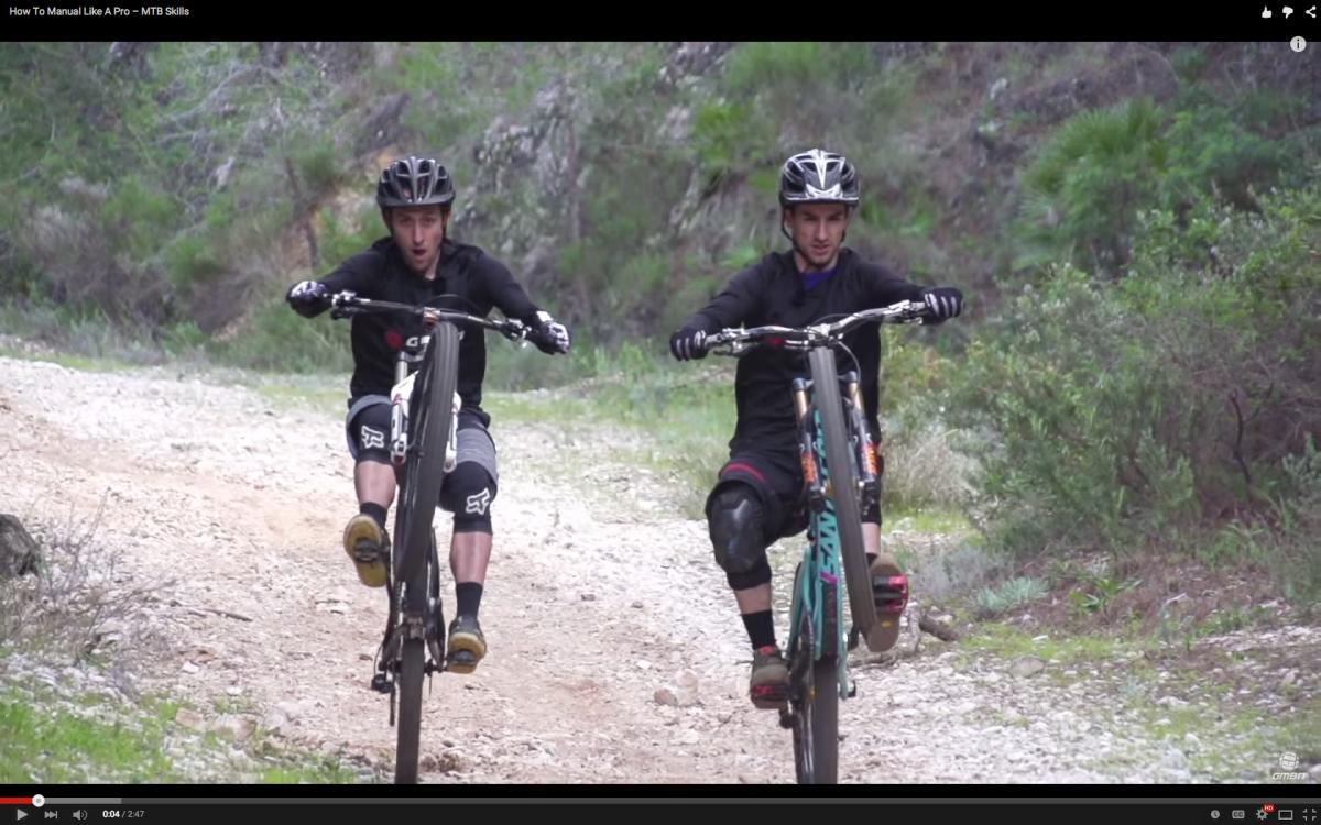 Video How To Manual Like A Pro Singletracks Mountain Bike News Mountain Biking Mtb Bike Mountain Bike News