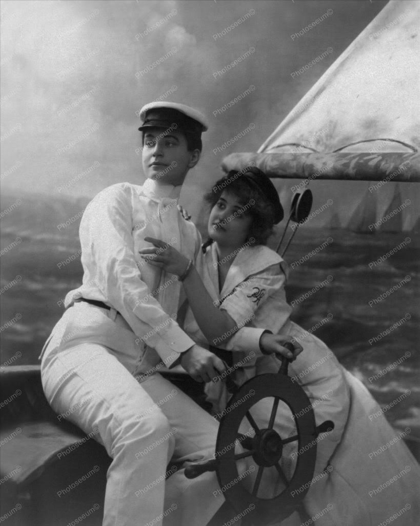 Vintage Women Posing As Couple 8x10 Reprint Of Old Photo