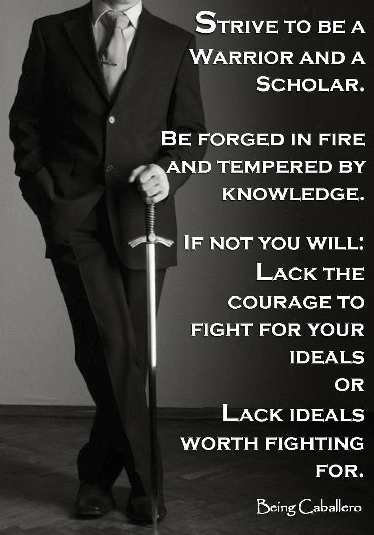 The society that separates scholars from its warriors will have it thinking done by cowards and its fighting done by fools. -Thucydides - #WORKLAD
