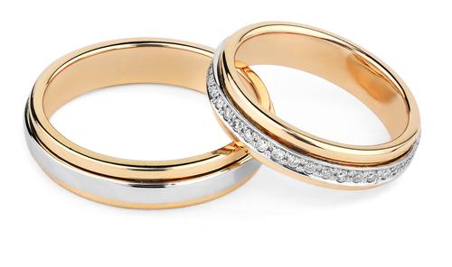 Thai Gold Wedding Rings